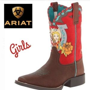 Mustang Molly Girl's Boots by Ariat